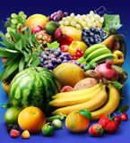 Fruit & berries Royalty Free Stock Image