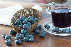 Fruit berries, blueberries Stock Image
