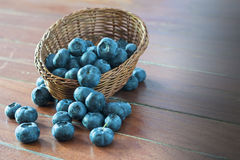 Fruit berries, blueberries Stock Photos