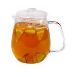 Fruit berry green tea Stock Photos