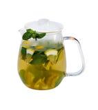 Fruit berry green tea Stock Images