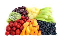 Fruit and berry mix Stock Image