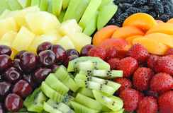 Fruit and berry mix Royalty Free Stock Photo
