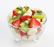 Fruit and  berry salad Stock Photography