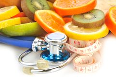 Fruit best doctor Stock Images
