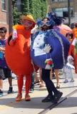 Fruit bij de Trots 2011 van Toronto Stock Foto