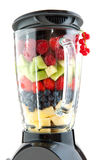 Fruit in the blender Stock Photos