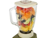 Fruit in the Blender Stock Photography