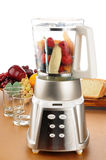 Fruit in a blender Stock Photography