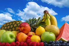 Fruit and Blue Sky Stock Photo
