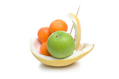 Fruit boat. Royalty Free Stock Photography