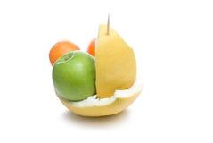 Fruit boat. Royalty Free Stock Image