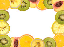 Fruit border Stock Photos