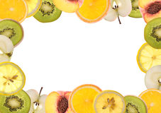 Fruit border Royalty Free Stock Image