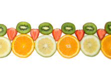 Fruit border Royalty Free Stock Images