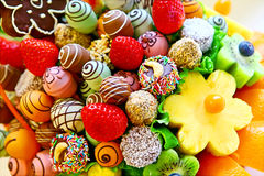 Fruit bouquet Royalty Free Stock Image