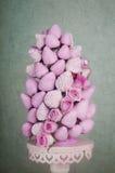 Fruit bouquet pyramid Stock Photos