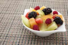 Fruit in a bowl. Stock Image