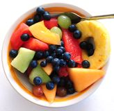 Fruit Bowl Stock Images