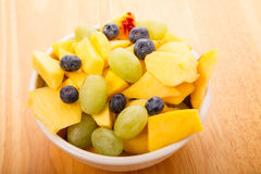 Fruit Bowl from Above Royalty Free Stock Photo