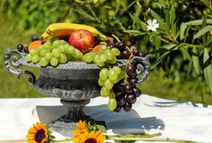 Fruit Bowl, Shell, Fruit, Fruits Royalty Free Stock Photo