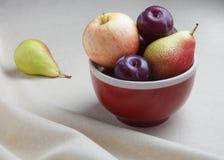 Fruit bowl still life Royalty Free Stock Photo