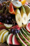 Fruit bowl of various kinds Stock Image