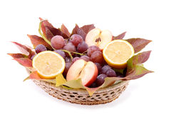 Fruit bowls Stock Photo