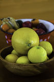 Fruit bowls Royalty Free Stock Images