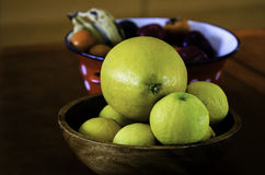 Fruit bowls Stock Image