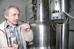 Fruit brandy maker Stock Image