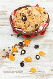 Fruit bread Stock Photography