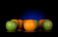 Fruit brigade Royalty Free Stock Images