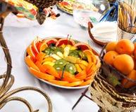 Fruit buffet Royalty Free Stock Photo
