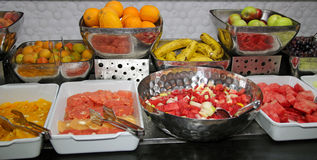 Fruit Buffet Stock Photos