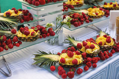 Fruit Buffet. In a restaurant Stock Photography