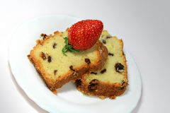 Fruit-cake Royalty Free Stock Image