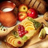 Fruit Cake Stock Photos