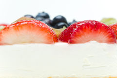 Fruit cake Stock Photo