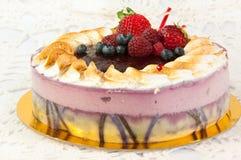 Fruit cake royalty free stock images