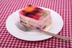 Fruit cake Stock Photography