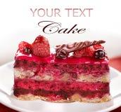 Fruit Cake. Close-up Image stock photos