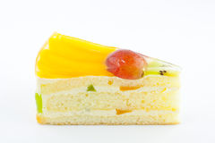 Fruit cake Stock Images