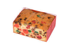 Fruit cake Royalty Free Stock Photos