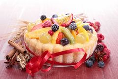 Fruit cake Royalty Free Stock Image