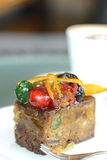 Fruit Cake Royalty Free Stock Images