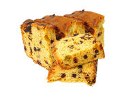 Fruit cake. Fresh fruit cake royalty free stock photos