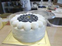The fruit cake Stock Image