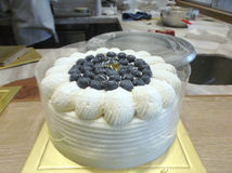 The fruit cake Royalty Free Stock Photo