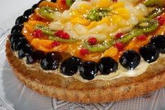 Fruit cake close up Stock Photo